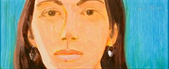 Alex Katz-Study for Corinne-2006