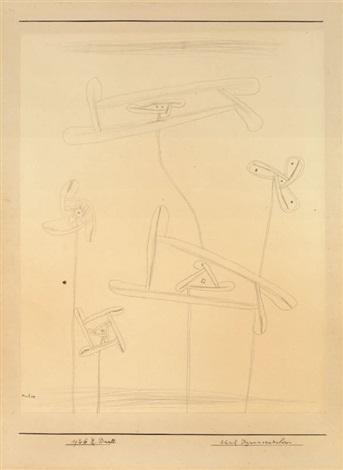 Paul Klee-Funf Dynamoradiolaren-1926