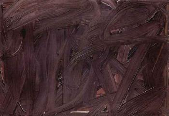 Gerhard Richter-Vermalung (Braun) / Inpainting (Brown) / Senza Titolo-1972
