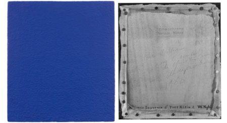 Yves Klein-Le monochrome bleu-1960