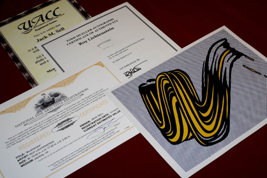 Everything You Need To Know About The Certificate Of Authenticity