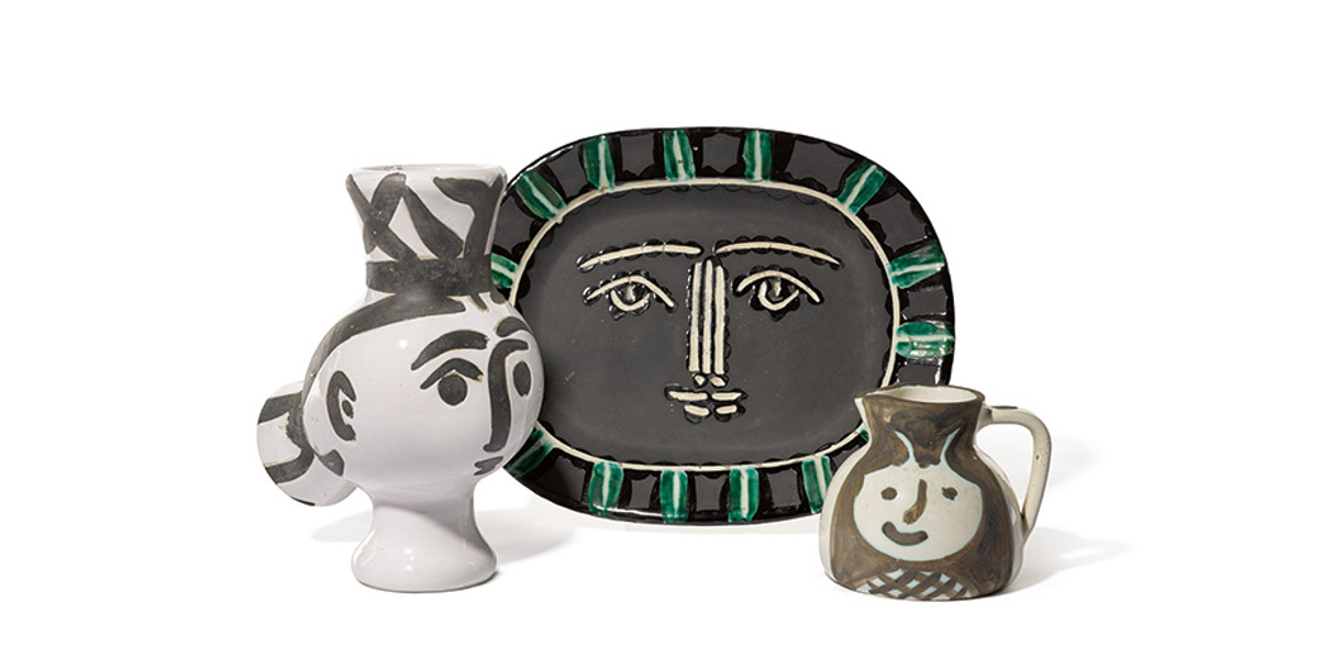 Sotheby's - A Life in Art, Lord & Lady Attenborough, The Celebrated Private Collection of Picasso Ceramics, 11/22/2016