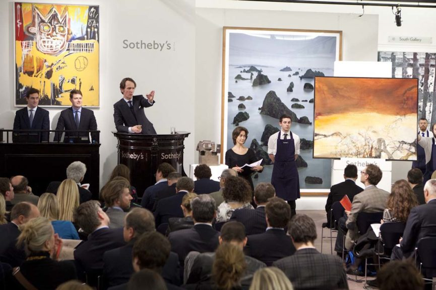 Sotheby's Evening Contemporary Art Auction