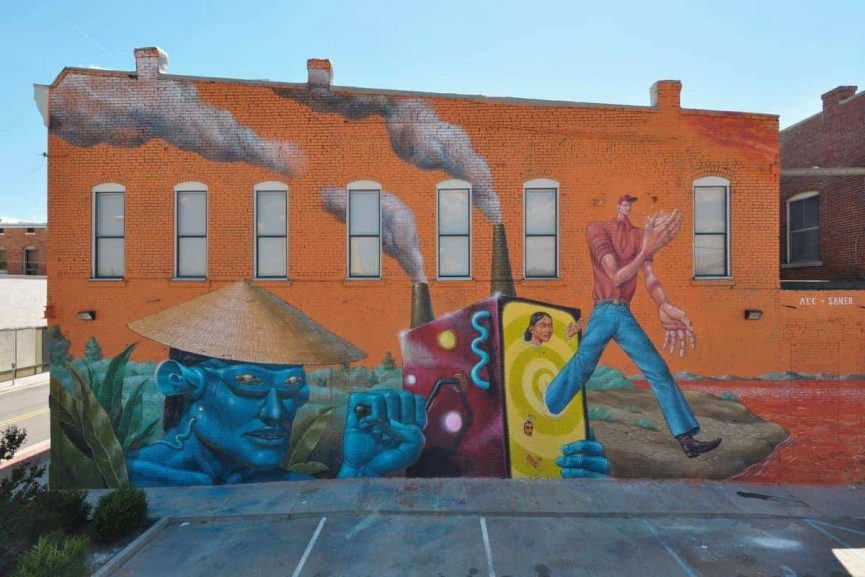AEC and Saner Mural