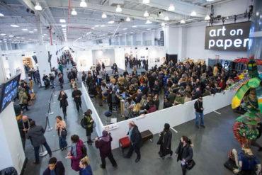 2016 Art on Paper visit 2016