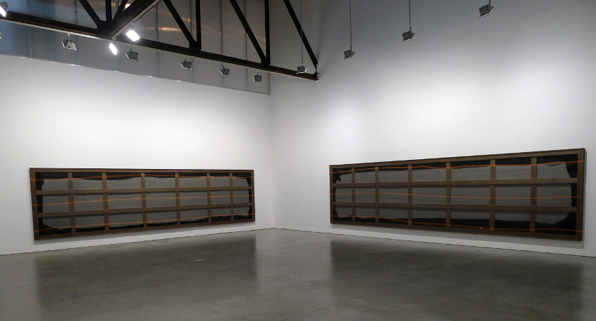 Aaron Bobrow - Electric Bathing #2, 2013, installation view, image courtesy of Andrea Rosen Gallery