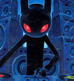 Aaron Jasinski Dj Black Rabbit detail