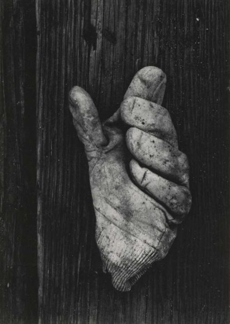 Aaron Siskind-Gloucester 1H (Glove)-1944