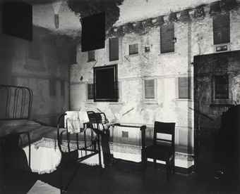 Abelardo Morell-Camera Obscura Image of a Castle Courtyard in Bedroom-2000