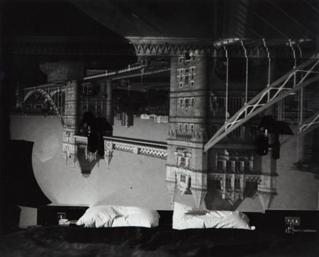 Abelardo Morell-Camera Obscura image of the Tower Bridge in the Tower Hotel Room-2001