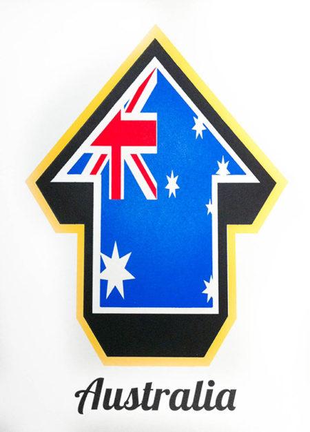 Above-Arrow Flags (Australia)-2010