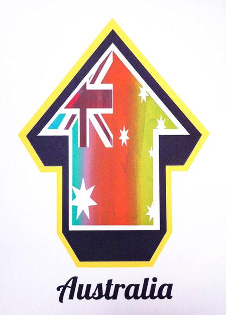 Above-Arrow Flags (Australia Freak Flag Edition)-2010
