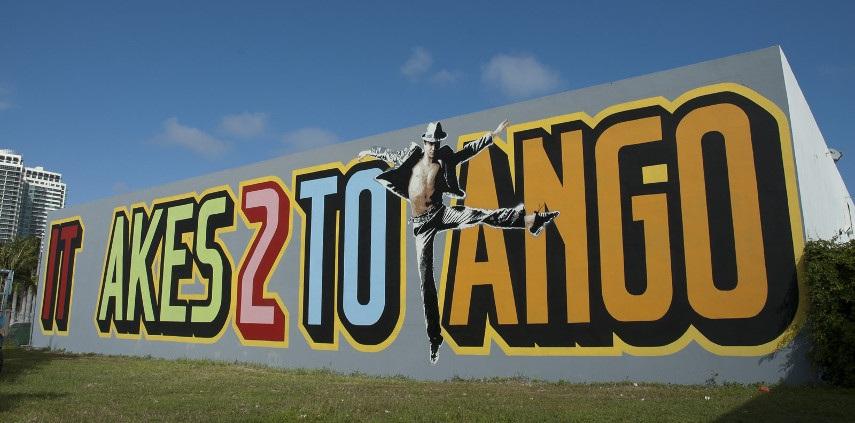 Above - It Takes Two to Tango - Image via warholiancom