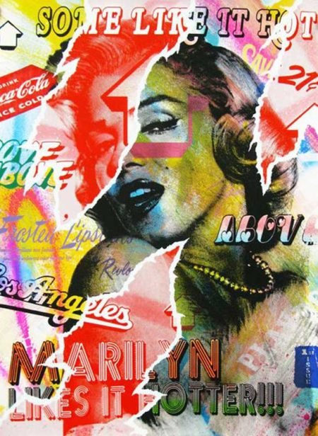 Above-Marilyn Likes It Hotter (Pink) edition-2013