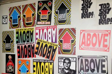 Enjoy the Studio Visit with Above and Urban Spree Ahead of the Urban Art Fair