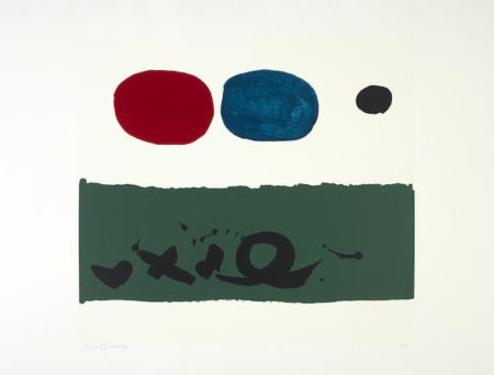 Adolph Gottlieb-Green Foreground-1972