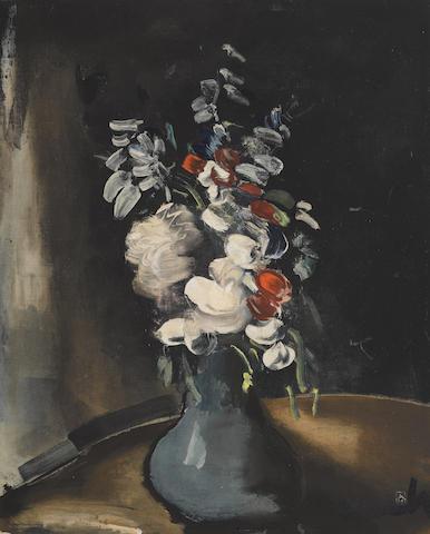 Maurice de Vlaminck-After Maurice de Vlaminck - Bouquet de fleurs-1955