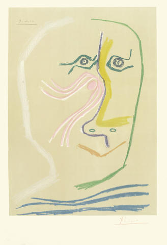 Pablo Picasso-After Pablo Picasso - In Honour of Rene Char-1969