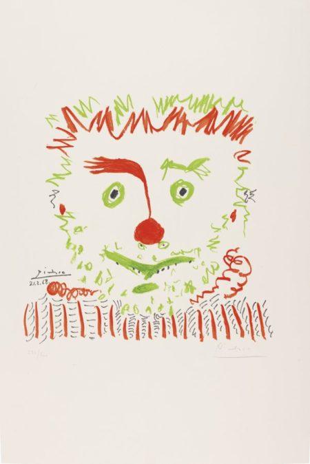 Pablo Picasso-After Pablo Picasso - Le Clown-1968