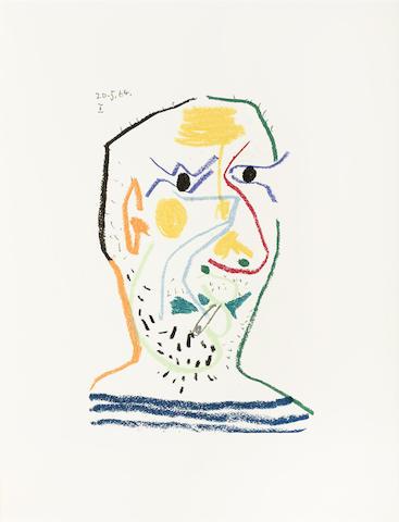 Pablo Picasso-After Pablo Picasso - Le Gout du Bonheur-1970