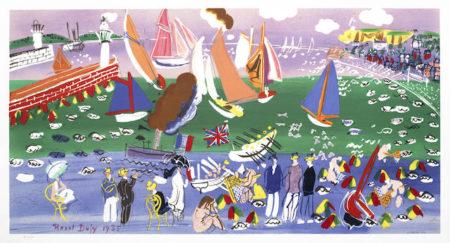 Raoul Dufy-After Raoul Dufy - 'Baie de Sainte Adresse' & 'Anemones'-1935