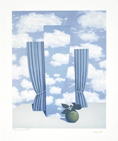 Rene Magritte-After Rene Magritte - La Beau Monde-