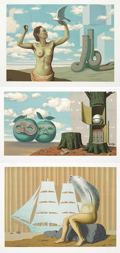 Rene Magritte-After Rene Magritte - Les Enfants Trouves-1968