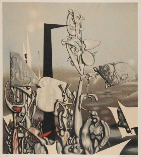 Yves Tanguy-After Yves Tanguy - Feu A Eclat-1953