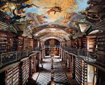 Ahmet Ertug-The National Library, Prague-2009