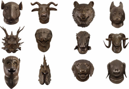 Ai Weiwei-Circle of Animals, Zodiac Heads-2010