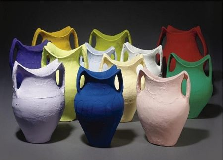 Ai Weiwei-Colored Pots-2006
