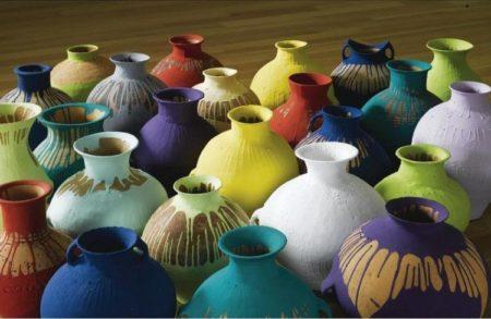 Ai Weiwei-Colored Pots-2006