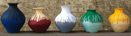 Ai Weiwei-Coloured Vases-2012
