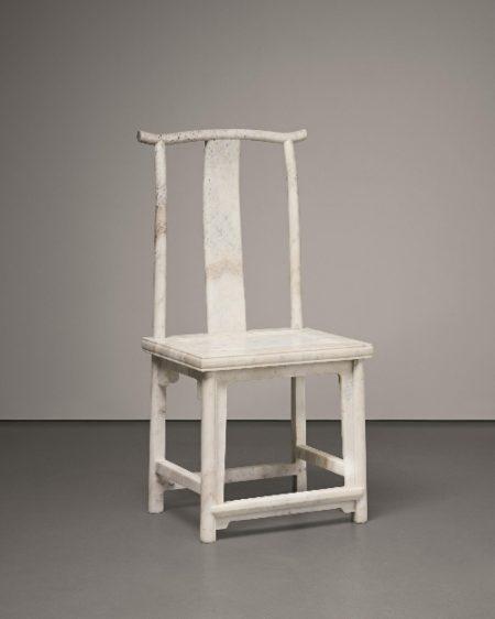 Ai Weiwei-Marble Chair (No.14)-2008