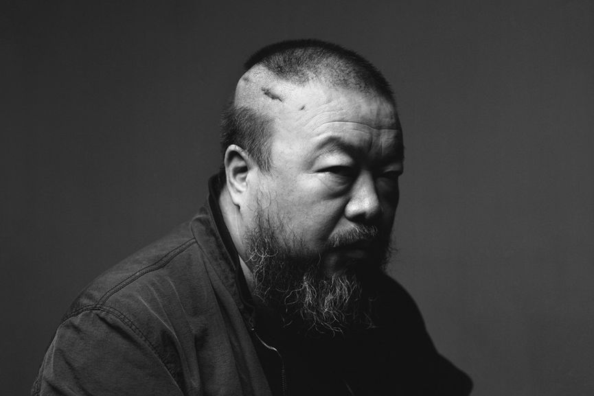 Ai Weiwei likes to use the media as a helping tool for art