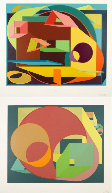 Al Held-Scholes I; Scholes II-1991