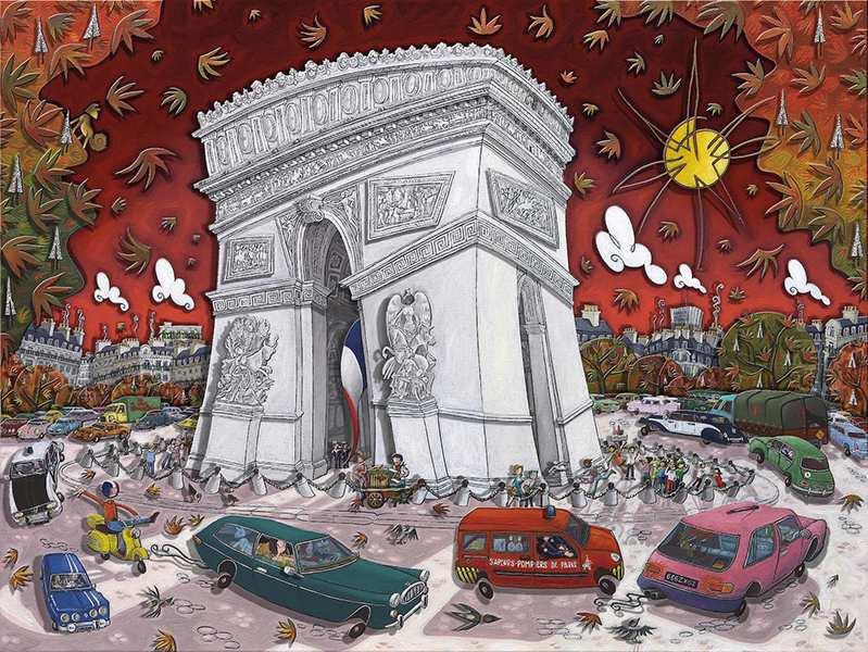 Alain Godon -The Merry Go Round Bordeaux, 2015