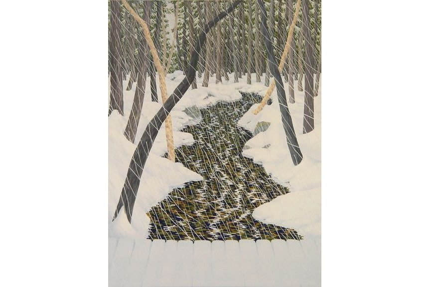 welliver landscape painting