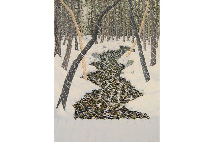 welliver landscape painting
