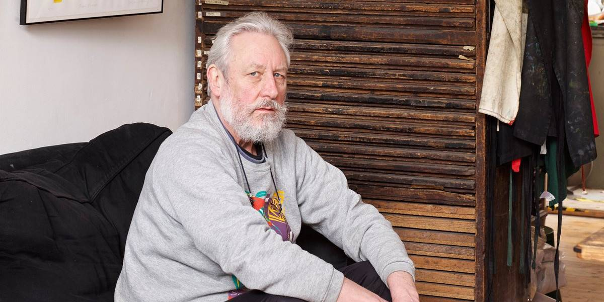 Alan Kitching - Picture of the artist - Photo via theguardian.com