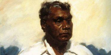 Albert Namatjira - Portrait of the artist by William Dargie,  1956 - Photo Credits Julia Ritson