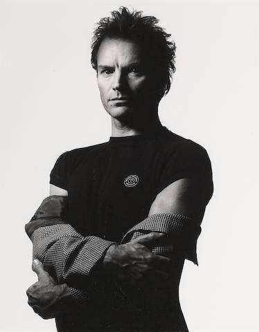 Albert Watson-Sting, New York City, March 16th-1992