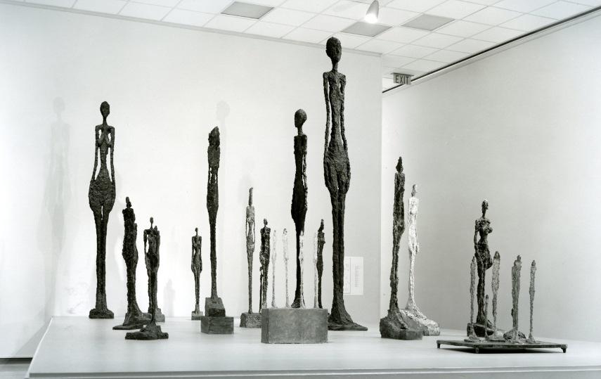 Alberto Giacometti - A Collection of His PIeces - Image via pinterestcom