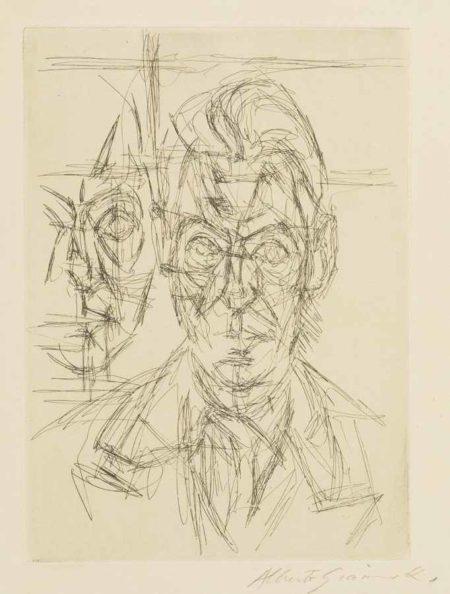 Alberto Giacometti-Andre Du Bouchet-1961