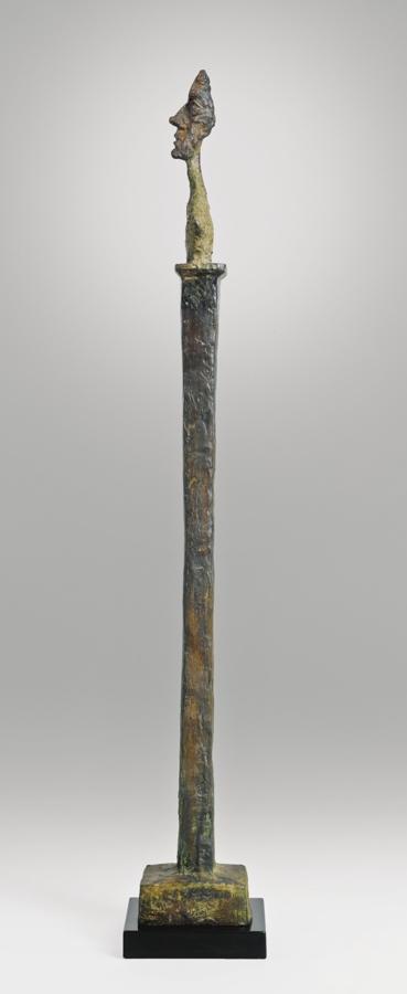 Alberto Giacometti-Diego Sur Stele II-1958