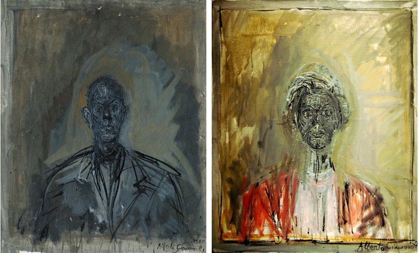 Alberto Giacometti - Diego --- Tutt - Images via tateorguk and bpcom
