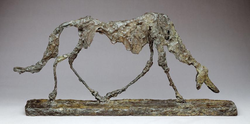 Alberto Giacometti - Dog - Image via hirshhornsiedu
