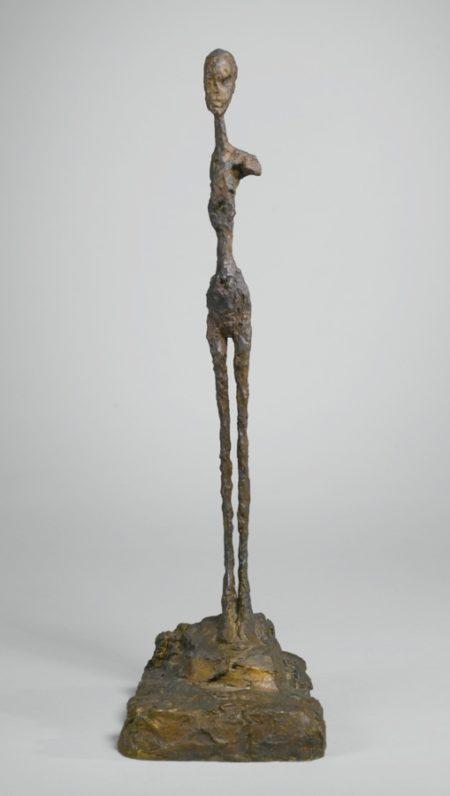 Alberto Giacometti-Femme, Epaule Cassee, Premiere Version-1958