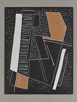 Alberto Magnelli-Sans Titre-1965