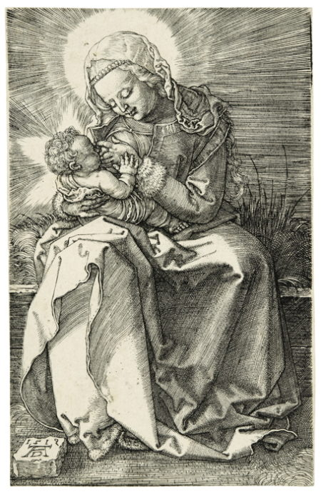 Albrecht Durer-The Virgin Nursing The Child (B. 36; M., Holl. 39)-1519